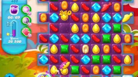 Candy Crush Soda Saga Level 432 (6th version)