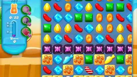 Candy Crush Soda Saga Level 402 (2nd buffed, 3 Stars)