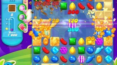 Candy Crush Soda Saga Level 583 (nerfed)