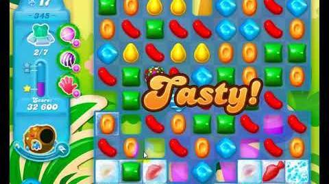 Candy Crush Friends Group SODA Level 345 3Stars 2nd Update 291017