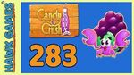 Candy Crush Soda Saga Level 283 (Jam mode) - 3 Stars Walkthrough, No Boosters