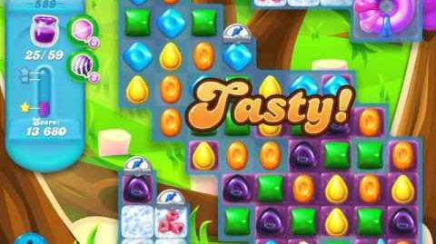 Candy Crush Soda Saga Level 589 (3 Stars)