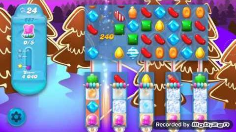 Candy Crush Soda Saga Level 657 (3 Stars)