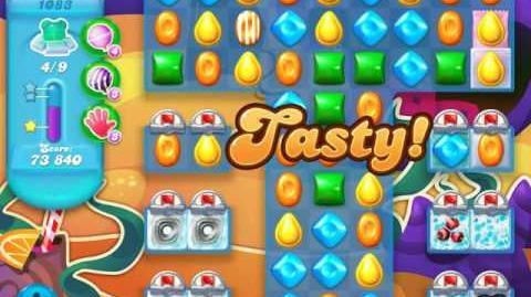 Candy Crush Soda Saga Level 1083 (buffed, 3 Stars)