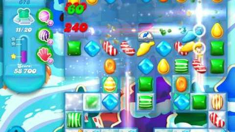 Candy Crush Soda Saga Level 678 (5th version)