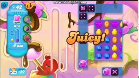CANDY CRUSH SODA Saga Level 2544 ★★★