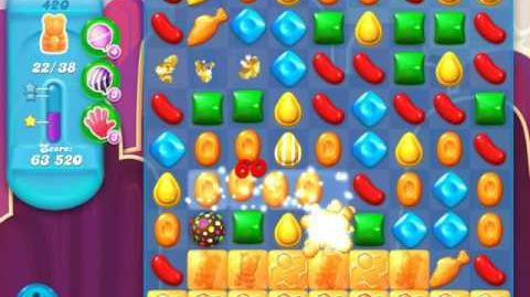 Candy Crush Soda Saga Level 420 (6th version, 3 Stars)