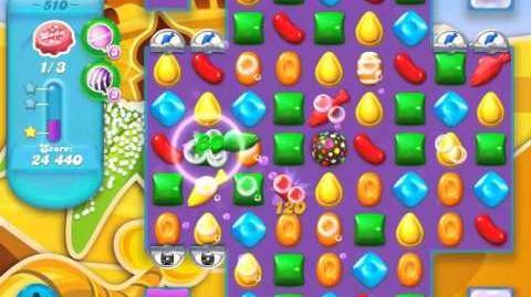 Candy Crush Soda Saga Level 510 (3 Stars)
