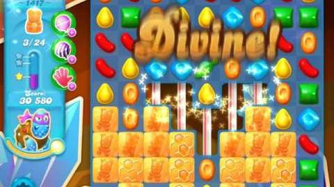 Candy Crush Soda Saga Level 1417 (3 Stars)