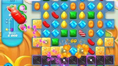 Candy Crush Soda Saga Level 165 (4th version)