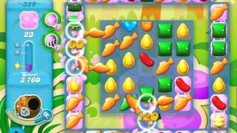 Candy Crush Soda Saga Level 329 (3 Stars)
