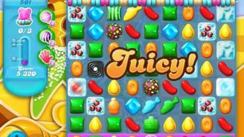 Candy Crush Soda Saga Level 501 (4th version, 3 Stars)