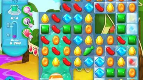 Candy Crush Soda Saga Level 713 (3 Stars)