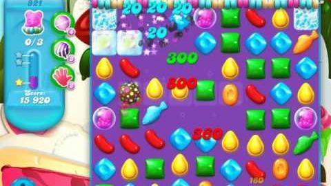 Candy Crush Soda Saga Level 821 (2nd buffed, 3 Stars)