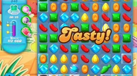 Candy Crush Soda Saga Level 845 (8th version, 3 Stars)
