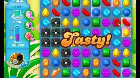 Candy Crush Friends Group SODA Level 333 3Stars 1st Update 291017