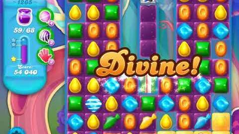 Candy Crush Soda Saga Level 1265 (nerfed, 3 Stars)