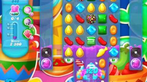 Candy Crush Soda Saga Level 848 (nerfed)
