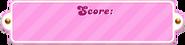Score bar-pink
