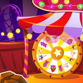 Spun Sugar Carnival background