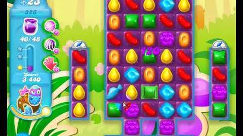Candy Crush Friends Group SODA Level 326 3Stars Update 291017