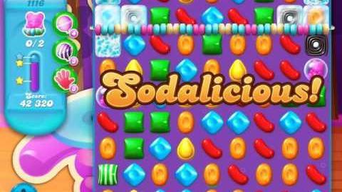 Candy Crush Soda Saga Level 1116 (3 Stars)
