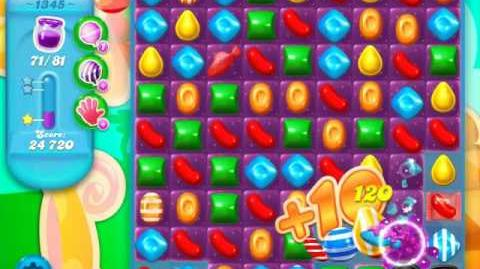 Candy Crush Soda Saga Level 1345