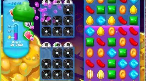Candy Crush Soda Saga Level 2048 **