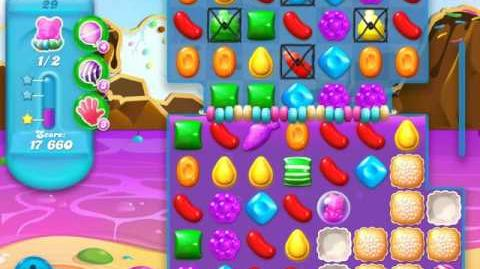Candy Crush Soda Saga Level 29 (5th version, 3 Stars)