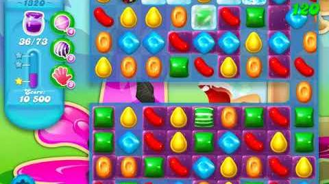 Candy Crush Soda Saga Level 1320 (4th version, 3 Stars)