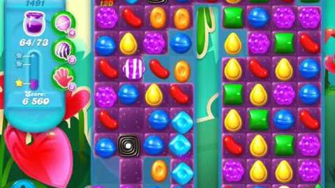 Candy Crush Soda Saga Level 1491 (2nd nerfed)