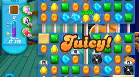Candy Crush Soda Saga Level 1854 (3 Stars)