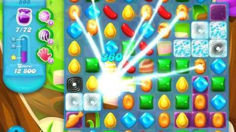 Candy Crush Soda Saga Level 595 (8th version, 3 Stars)