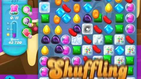 Candy Crush Soda Saga Level 637 (nerfed, 3 Stars)