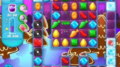 Candy Crush Soda Saga Level 661 (2nd nerfed)