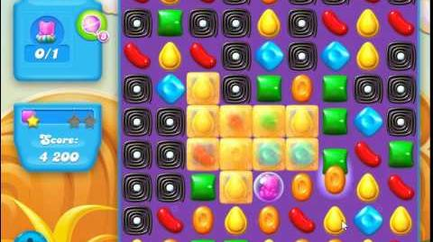 Candy Crush Soda Saga Level 163 (buffed, 3 Stars)