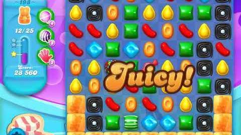 Candy Crush Soda Saga Level 198 (2nd buffed, 3 Stars)