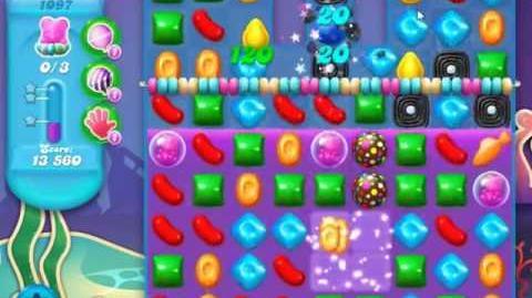 Candy Crush Soda Saga Level 1097 - NO BOOSTERS