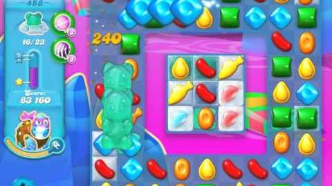 Candy Crush Soda Saga Level 458 (nerfed, 3 Stars)