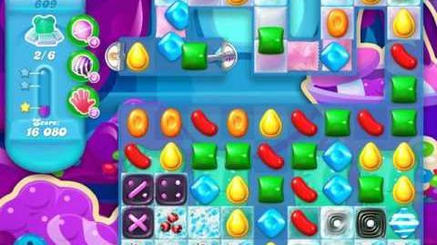 Candy Crush Soda Saga Level 609 (2nd buffed)