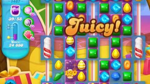Candy Crush Soda Saga Level 1467 (3 Stars)