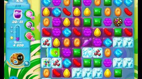 Candy Crush Friends Group SODA Level 319 1Stars Update 291017