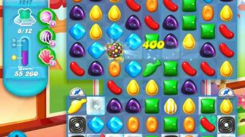 Candy Crush Soda Saga Level 1217 (7th version)