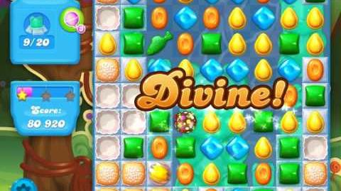 Candy Crush Soda Saga Level 8 (nerfed, 3 Stars)