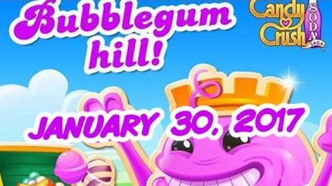Candy Crush Soda Saga - Bubblegum Hill - January 30, 2017