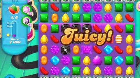 Candy Crush Soda Saga Level 184 (2nd version, 3 Stars)