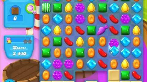 Candy Crush Soda Saga Level 126 (nerfed, 3 Stars)