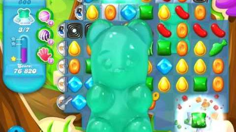 Candy Crush Soda Saga Level 600 (7th version, 3 Stars)