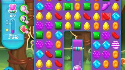 Candy Crush Soda Saga Level 10 (nerfed, 3 Stars)