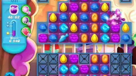 Candy Crush Soda Saga Level 1681 (buffed)